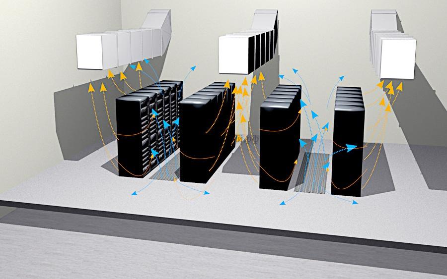 Вентиляция серверной